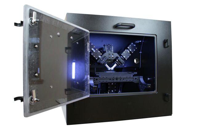 diSPIM on RAMM in incubator enclosure